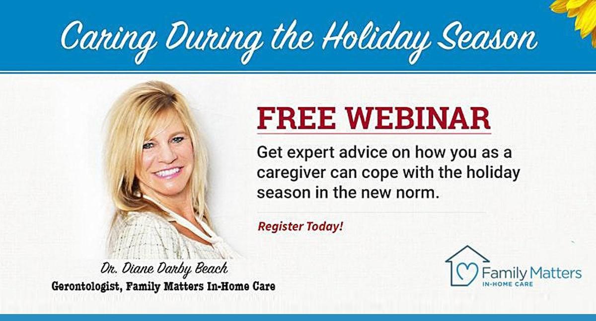 Free Webinar: Caring During The Holiday Season - Make It Stress-LESS!