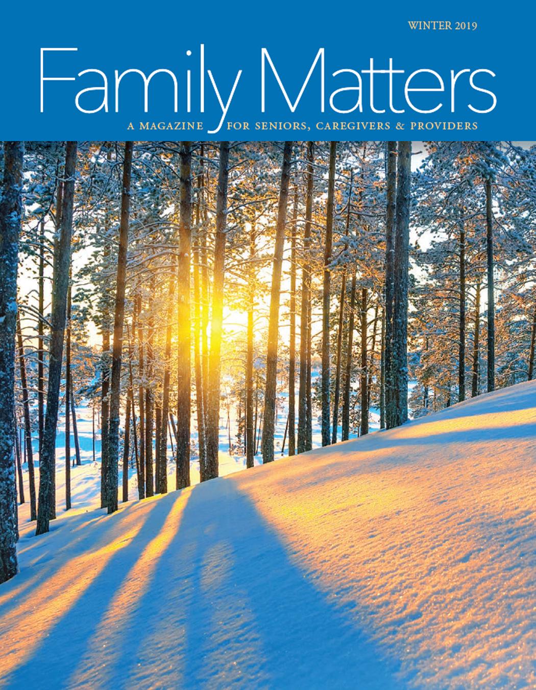Family Matters Magazine (Winter 2019)